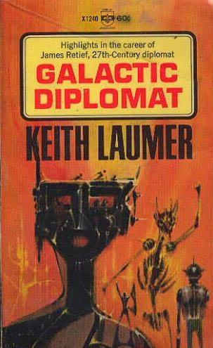 book cover of Galactic Diplomat