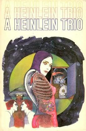 book cover of A Heinlein Trio