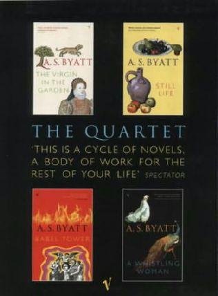 book cover of The Frederica Quartet
