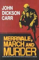 book cover of Merrivale, March and Murder