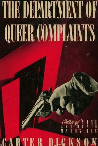 book cover of The Department of Queer Complaints