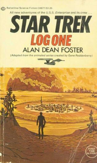 book cover of Star Trek Log 1