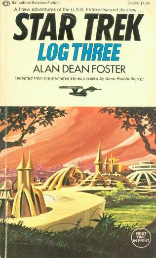 book cover of Star Trek Log 3