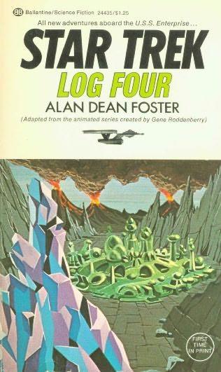 book cover of Star Trek Log 4