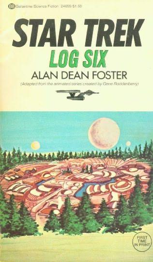 book cover of Star Trek Log 6