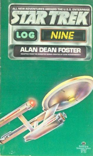 book cover of Star Trek Log 9