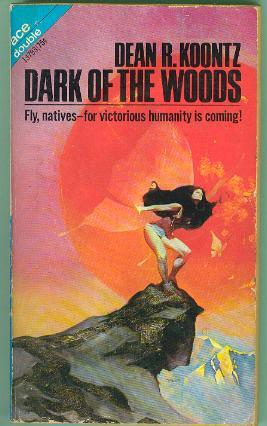 book cover of Dark of the Woods / Soft Come the Dragons