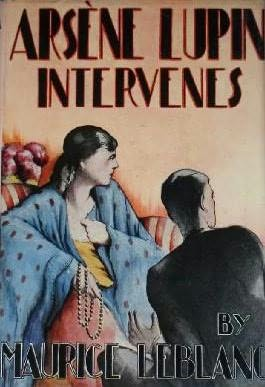 book cover of Arsene Lupin Intervenes