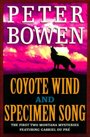 book cover of Coyote Wind / Specimen Song