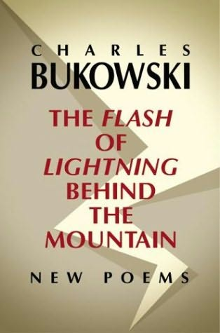 book cover of The Flash of Lightning Behind the Mountain
