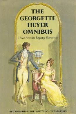 book cover of The Georgette Heyer Omnibus
