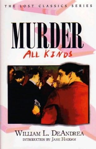 book cover of Murder: All Kinds