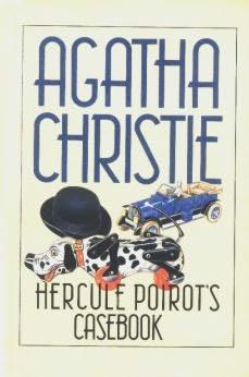 book cover of Hercule Poirot\'s Casebook