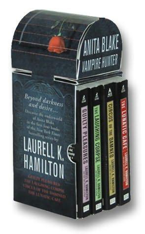 book cover of Anita Blake: Vampire Hunter Set