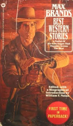 book cover of Max Brand\'s Best Western Stories