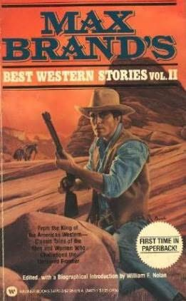 book cover of Max Brand\'s Best Western Stories: 2