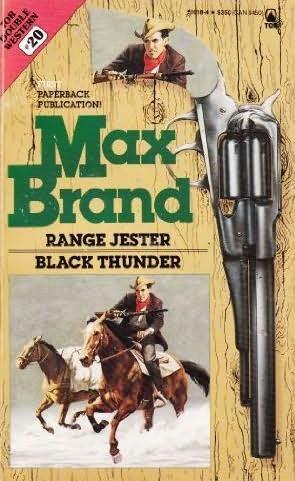 book cover of Range Jester / Black Thunder