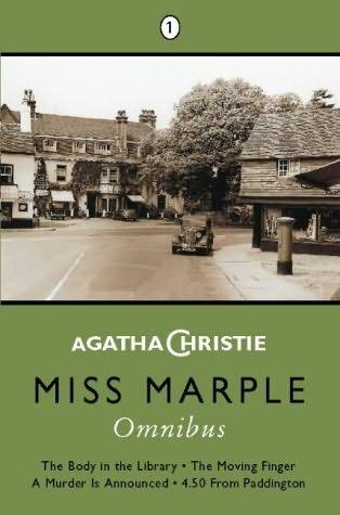 book cover of Miss Marple Omnibus