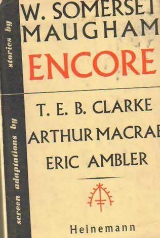 book cover of Encore