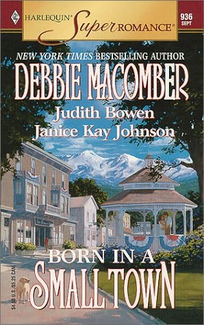 book cover of Born in a Small Town