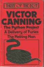 book cover of Three Of The Best: Melting Man, Python Project, Delivery of Furies