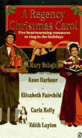 book cover of A Regency Christmas Carol