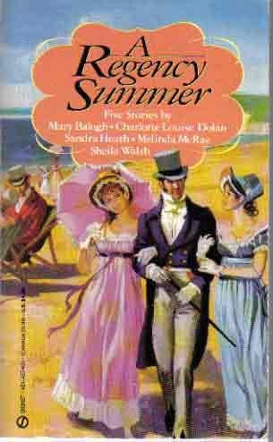 book cover of A Regency Summer