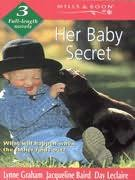 book cover of Her Baby Secret