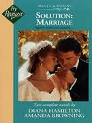 book cover of Solution, Marriage