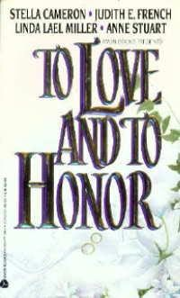 book cover of To Love and to Honor