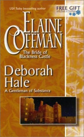 book cover of Bride of Blackness Castle / A Gentleman of Substance
