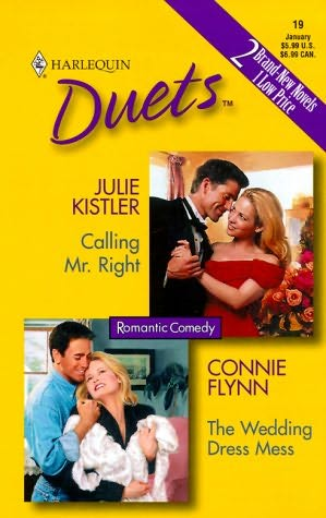 book cover of Calling Mr. Right / The Wedding Dress Mess