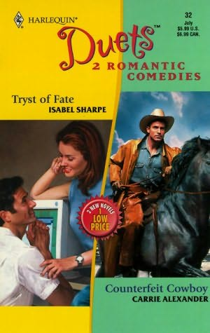 book cover of Tryst of Fate / Counterfeit Cowboy