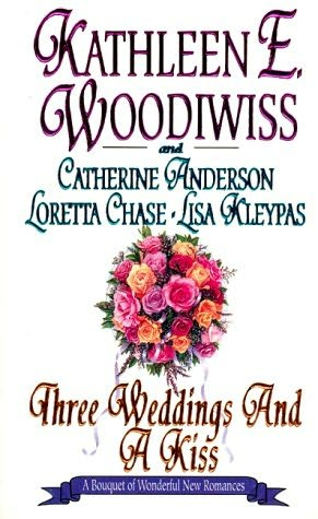 book cover of Three Weddings and a Kiss