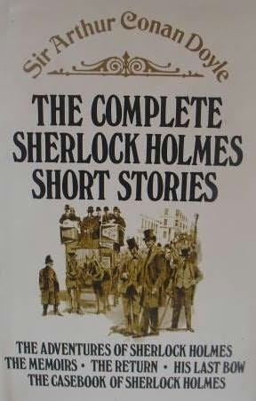 book cover of The Complete Sherlock Holmes Short Stories