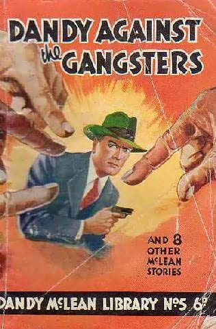 book cover of Dandy Against the Gangsters