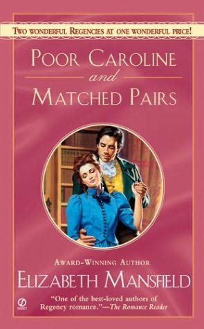 book cover of Poor Caroline / Matched Pairs