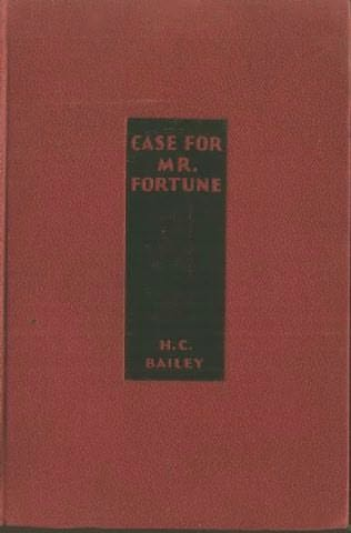 book cover of Case for Mr. Fortune