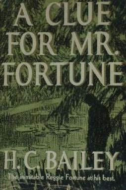 book cover of A Clue for Mr. Fortune