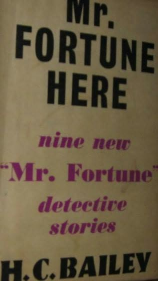book cover of Mr. Fortune Here