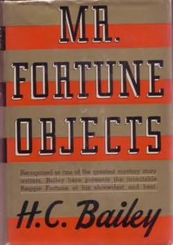 book cover of Mr. Fortune Objects