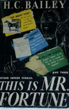 book cover of This Is Mr. Fortune