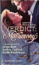 book cover of Verdict: Matrimony