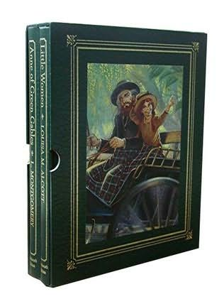 book cover of Anne of Green Gables / Little Women