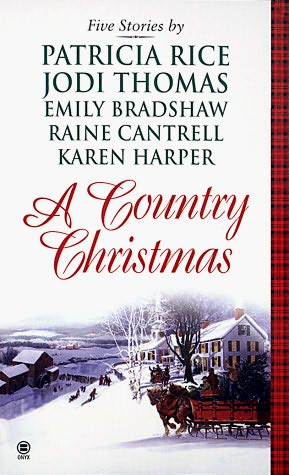book cover of A Country Christmas
