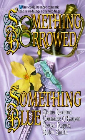 book cover of Something Borrowed, Something Blue