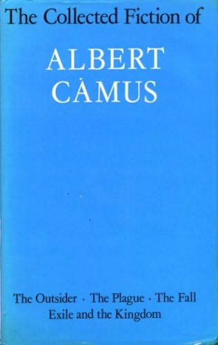 book cover of The Collected Fiction of Albert Camus