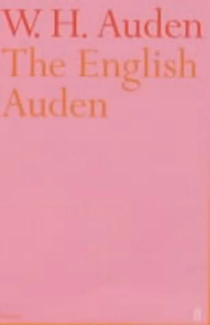 book cover of The English Auden