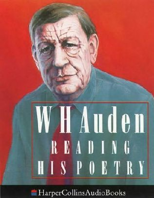 book cover of W.H.Auden Reading His Poetry