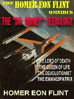 book cover of The Homer Eon Flint Omnibus
